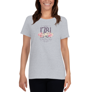 Original Union – 1781: Women's short sleeve t-shirt